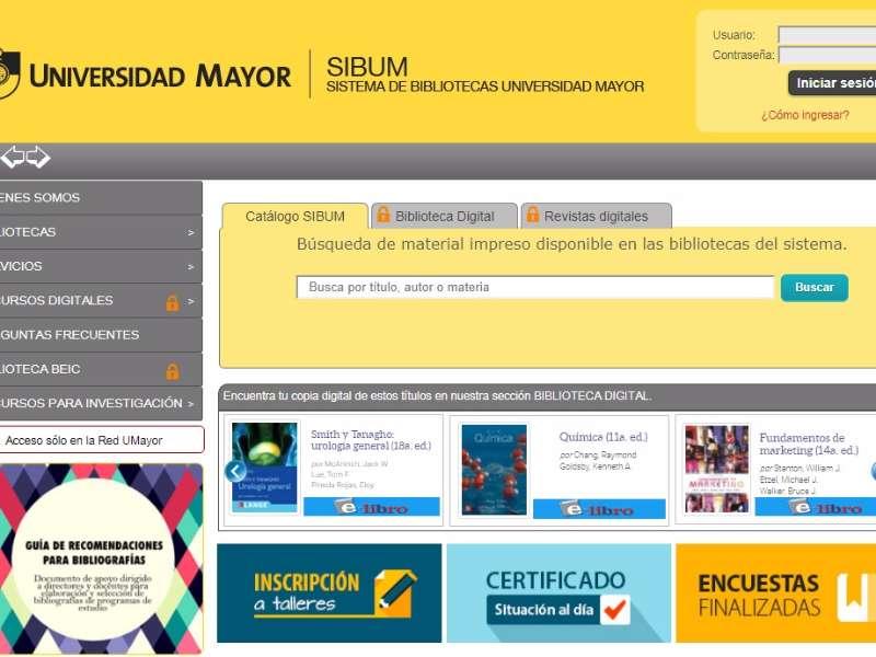"""MasterBiblioteca Digital U  Mayor implementa """"El Descubridor"""